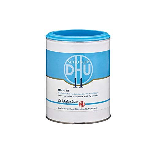 DHU Schüßler-Salz Nr. 11 Silicea D6 Tabletten, 1000 St. Tabletten