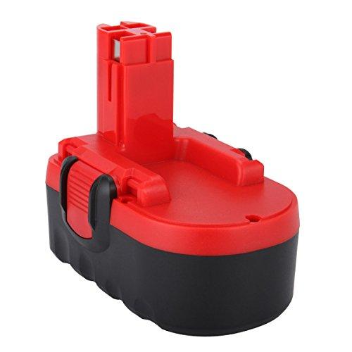 Preisvergleich Produktbild Shentec 18V 3.5Ah Ni-MH Ersatz-Werkzeug für Bosch Akku 2607335277 2607335278 2607335535 2607335536 2607335680 2607335695 2607335713 BAT025 BAT160 BAT180 13618 1644K 3860CK 52318 PSB 18 VE-2 GSB 18