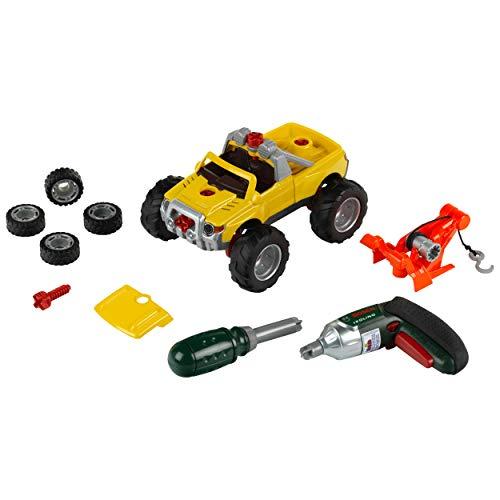 Theo Klein-8168 Bosch camión 3 en 1, car tuning set, juguete, color surtido (8168)