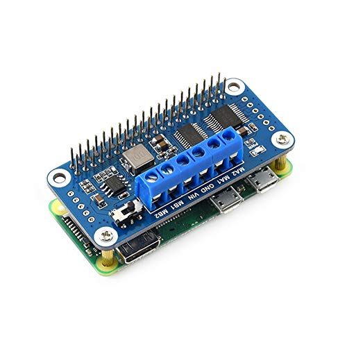 PCA9685 Suitable for Raspberry Pi Motor Drive Board, I2C Interface 2 DC Motors, Smart Car Extended Version