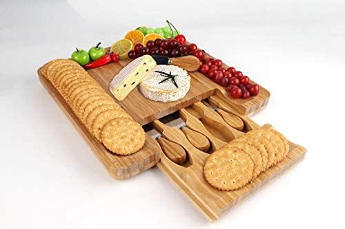 Premium Bamboo Cheese Board