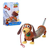 Toy Story 4 03240 Disney and Pixar Story Slinky Dog Jr Pull Toy, Multi-Color
