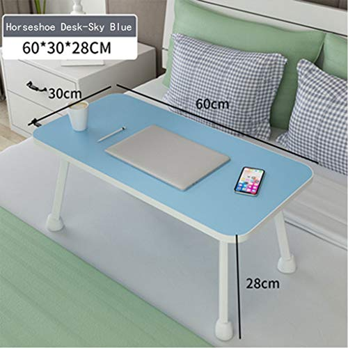 Laptopbureau, kan worden gebruikt voor het bestuderen van gereedschappen zoals notitieblokken, geschikt voor slaapzaal voor studenten, 6 kleuren, 60x30x27cm 1-16 5