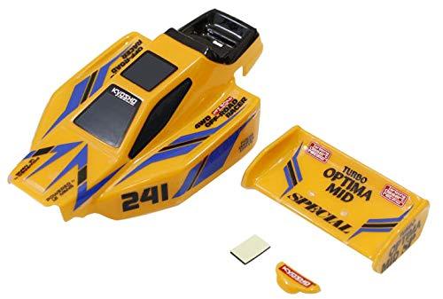 Kyosho MBB09Y Yellow Body Set Turbo Optima Mid Special MiniZ Buggy
