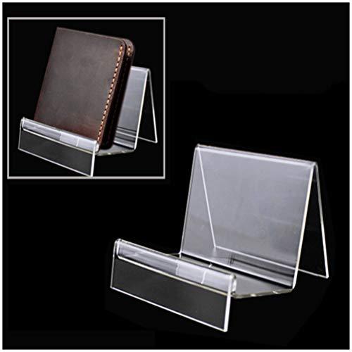 GFPR Acryl Brieftasche Display Telefon Ständer Halter Haushalt Lagerung Rack 11 * 10 * 9cm