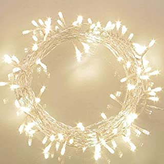 Koopower Battery Operated Waterproof Fairy Lights with 10M 100 Warm White LEDs