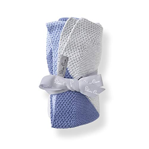 Silver Cross Knitted Baby Blanket for Newborns