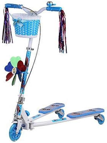 seguro de calidad El scooter scooter scooter de tres ruedas de los Niños, tijera de tijeras parpadeante rana torciendo el coche  protección post-venta