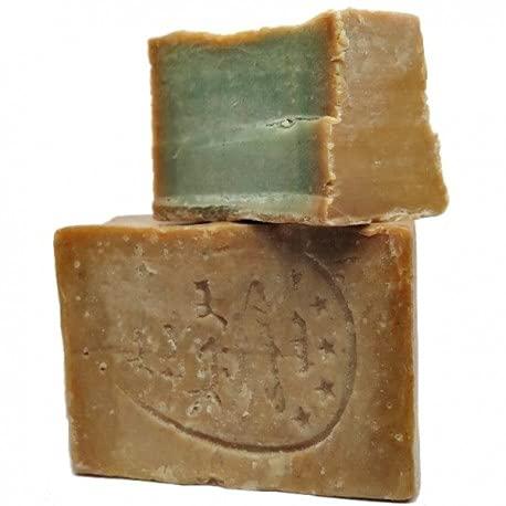 Carone Jabón Aleppo Vegetal 32% Laurel Pastilla, 200 gr
