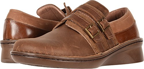 NAOT Footwear Women's Celesta Saddle Brown Lthr Combo Shoe 11 M US