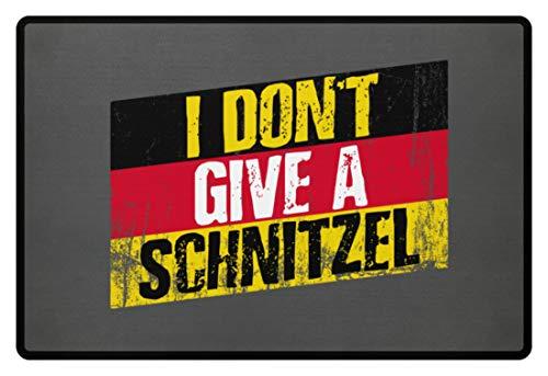 Generisch Oktoberfest Duitse vlag Schnitzel - deurmat