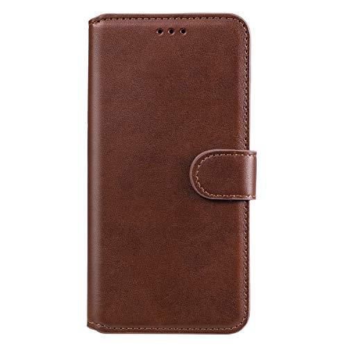 Funda de protección para Motorola Moto Edge 20 Pro, color marrón