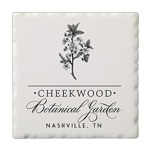 Custom Personalized Promotional Single Image Absorbent Stone Tumbled Tile Coaster Sets for Corporate Logo Favorite Photos Wedding Favors Set of 4