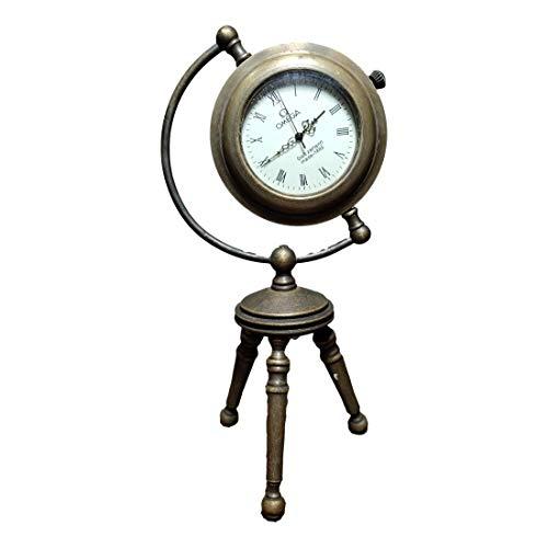 LAOJUNLU Omega estilo europeo y americano de cobre puro trípode mecánico reloj ornamentos (al azar