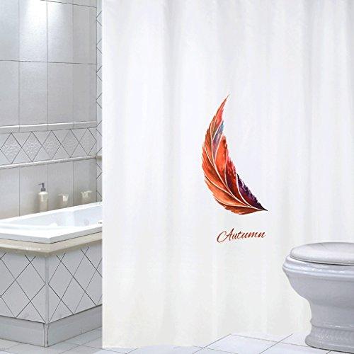 YXN Polyester badkamer douchegordijn waterdichte schimmel douchegordijn gordijn gordijn gordijn gordijn gordijn gordijn gordijn dikte Sanitaire partitie afdekken douchegordijn