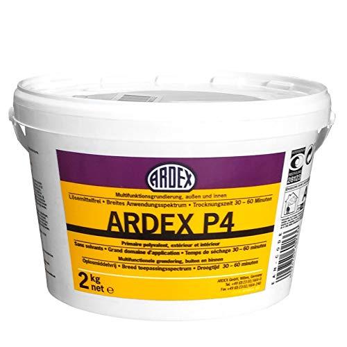 ARDEX P 4 Schnelle Multifunktionsgrundierung, außen und innen (2 Kilogramm)