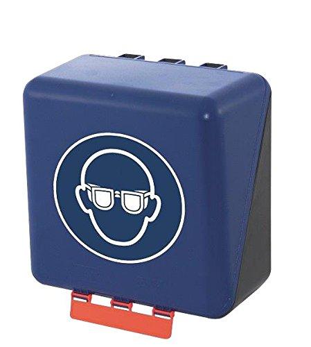 neoLab 2-6056 Aufbewahrungsbox f. Schutzbrillen, midi, Blau