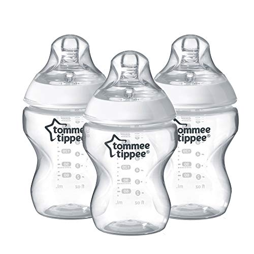 Tommee Tippee Closer to Nature Biberon, 260ml, 3 Pezzi