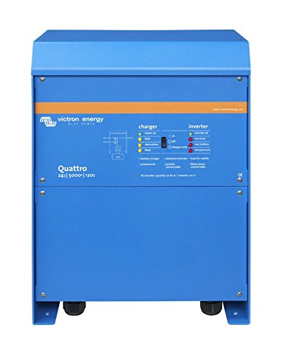 VICTRON ENERGY Quattro 24/5000/120-100/100 120VAC - QUA245023110