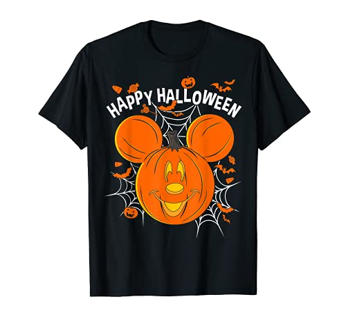 Disney Mickey & Friends Mickey Pumpkin Happy Halloween T-Shirt