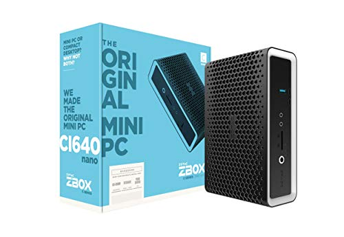Zotac Zbox CI640 Barebone nano mini-PC (Intel Core i5-8250U quad-core, Intel UHD Graphics 620)
