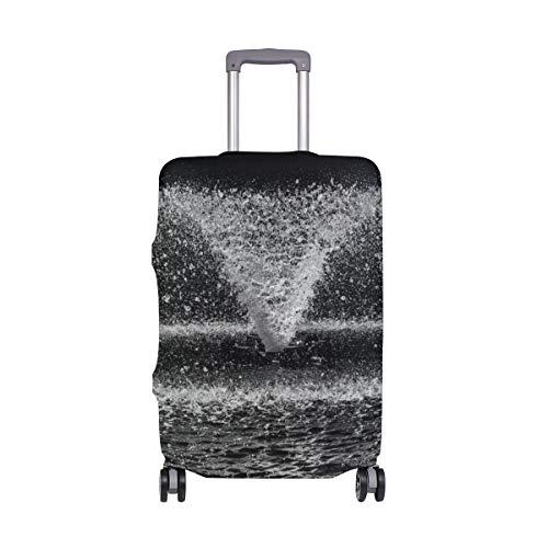 MALPLENA Brunnen-Muster Gepäckschutzkofferabdeckung NUR Abdeckung