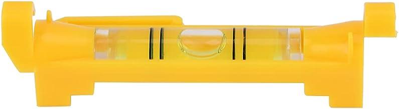 Linha suspensa de nível de bolha de corda, 5 unidades nivelador de corda de bolha de nível de bolha com ganchos moldados, ...