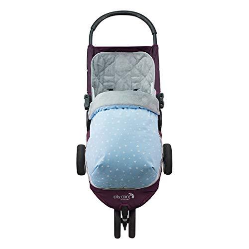 JANABEBE Sak voor Baby Jogger City Mini Joolz (BLUE SPARKLES, POLAR)