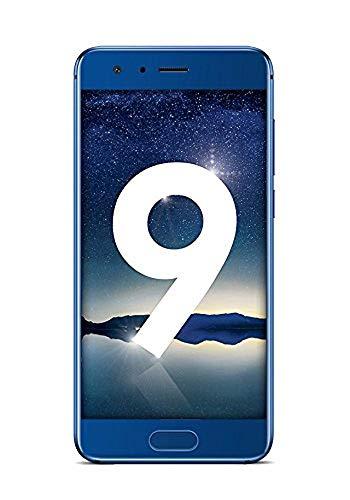 Honor 9 - Smartphone Dual SIM, 64GB ROM, 6GB RAM, LTE, Full HD, Android OS, Blu zaffiro, Dimensioni dello schermo 5.15 pollici