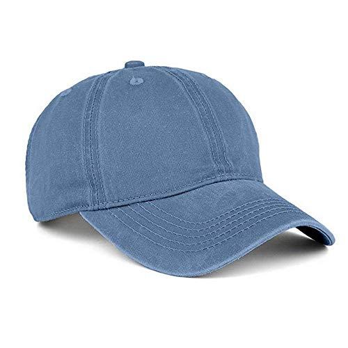 YEmaozi Verano sólido algodón Gorra de béisbol Hombres Mujeres Deporte al Aire Libre Tenis Senderismo Gorras de Pelota Transpirable Equipo Sombrero Personalizar