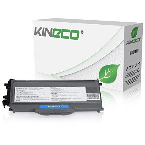 Kineco Toner kompatibel für Brother TN-2120 TN2120 für Brother HL-2140, HL-2150N, HL-2170W, DCP-7030, DCP-7040, DCP-7045N - Schwarz 2.600 Seiten