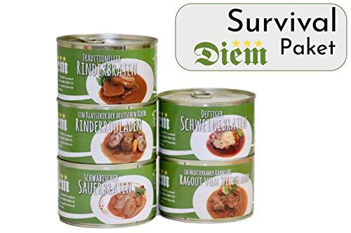 Diem Brexit Überlebens Paket (traditioneller Rinderbraten, klassische Rindsroulade, schwäbischer...