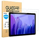 Kokio 2 pezzi Pellicola Salvaschermo per Samsung Galaxy Tab A7 2020,SM-T500,T505,T507, Pellicola in Vetro Temperato [Ultra Trasparente] [Antigraffio] [Durezza 9H] per Samsung Galaxy Tab A7 2020 10.4'