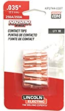Lincoln Electric Co Tip Contact 350A Tapered .035 (0.9Mm) 10/Pk