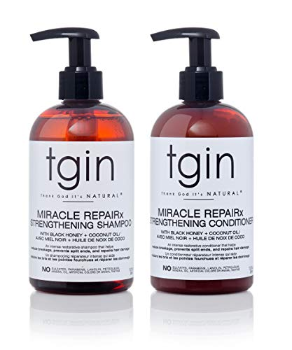 Price comparison product image tgin Miracle RepaiRx Strengthening Shampoo and Conditioner Duo For Natural Hair - Dry Hair - Curly Hair