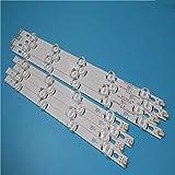 2kit = 16 piezas (8A+8B) barra de retroiluminación LED para TV HC390DUN-VCFP1-21X 39LN5400 39LA6200 LG innotek Pola 2.0 POLA2.0 39' A/B tipo