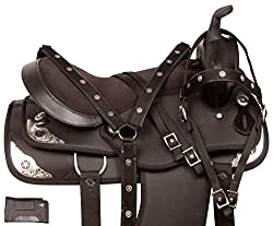 "top 10 horse saddles Acerugs Western TACK Harness Comfort Show Pleasure 14 ""15″ 16 ""17″ 18 ""Lightweight…"