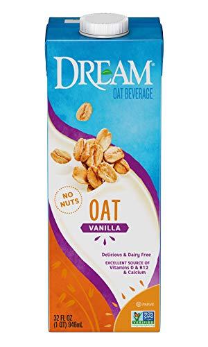 Dream Blends Oat, Dream Vanilla, 32 Oz (Pack of 6)