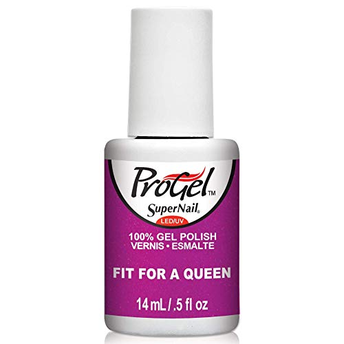 Supernail Progel Vernis à ongles UV – Collection Power of the crown – Fit For A Queen, 14 ml