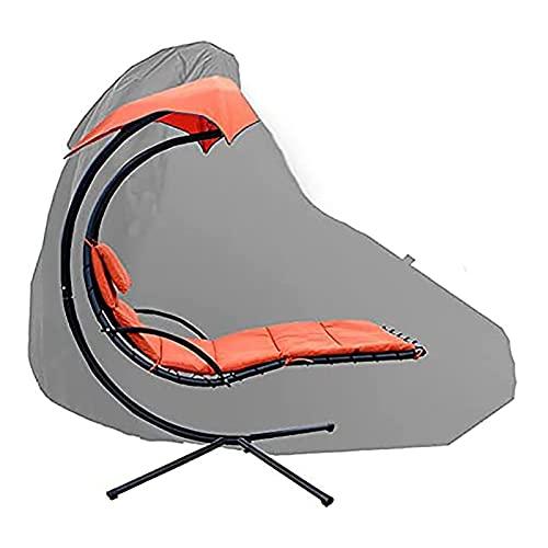 mementoy Funda para silla de patio o silla colgante 420D impermeable tela Oxford, 185 x 117 x 198 cm