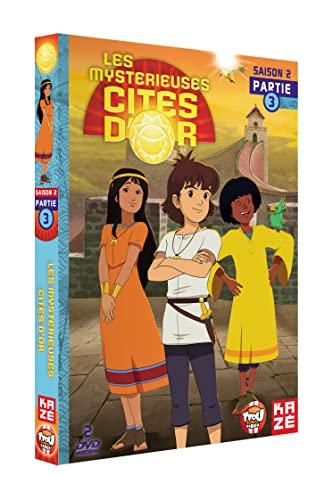 Les Mystérieuses Cités d'Or - Saison 2 - Partie 3 [Francia] [DVD]