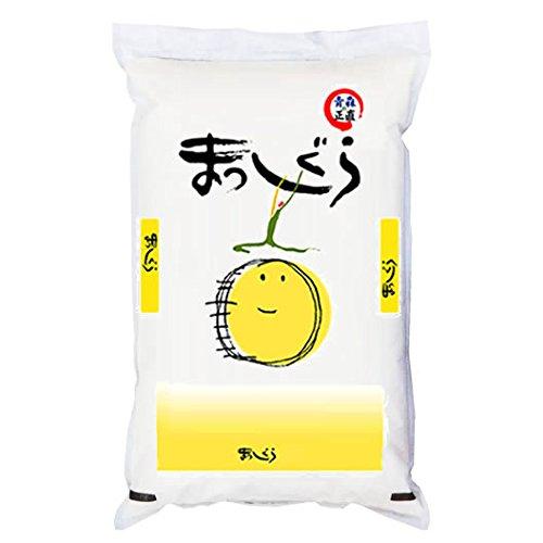 【精米】青森県産 無洗米(袋再利用) 白米 ねぶたの熱い米 まっしぐら 10kg(長期保存包装)x1袋 令和元年産