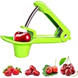 Cherry Pitter, Cherry Pitter Remover, Easy Kitchen Tool Cherry Pitter (Green)