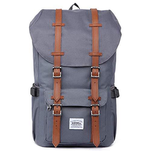 KAUKKO Rucksack Damen Herren Schön und Durchdacht Daypack mit Laptopfach für 14 Zoll Notebook für Schule,Uni, 22.4 L