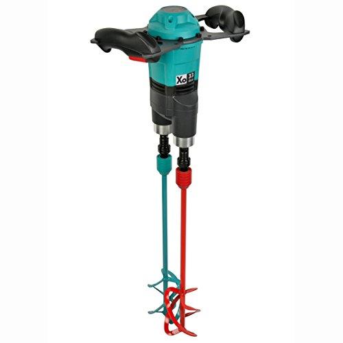 COLLOMIX Handrührwerk Xo 33 duo, 1150 Watt, 230 Volt, -370 UpM, incl. 1 Satz Mischwerzeuge MKD 120 HF