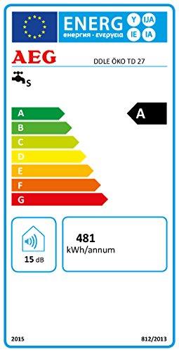 AEG vollelektronischer Durchlauferhitzer DDLE ÖKO TD, 27 kW, LCD, ECO-Funktion, Regendusche, 222399 - 8
