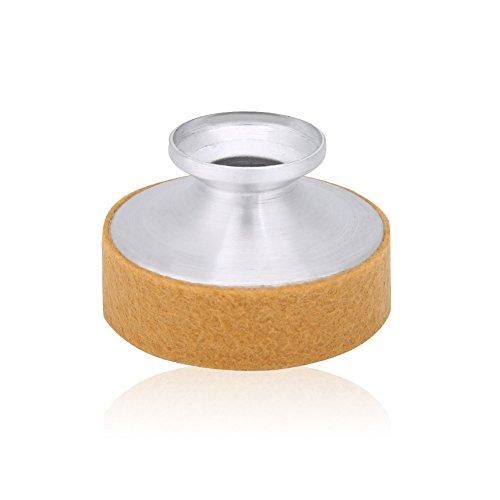 Dilwe Schweigen der Sopransaxophon, Altsaxophon-Aluminiumlegierung-Schalldämpfer Schalldämpfer (Aprikose)