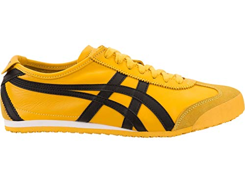 Onitsuka Tiger Unisex Mexico 66 Shoes, 8W, Yellow/Black
