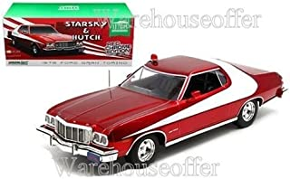 New 1:18 GREENLIGHT ARTISAN COLLECTION - STARSKY & HUTCH - RED 1976 FORD GRAN TORINODiecast Model Car By Greenlight