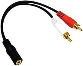 Best male-to-female rca y-adapter Reviews